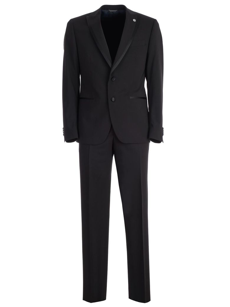 Emanuel Ungaro Single Breasted Suit - Nero