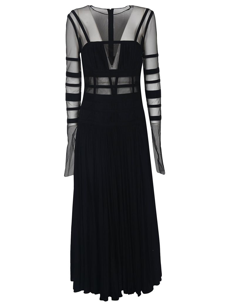 Giovanni Bedin Tulle Long Dress - Black