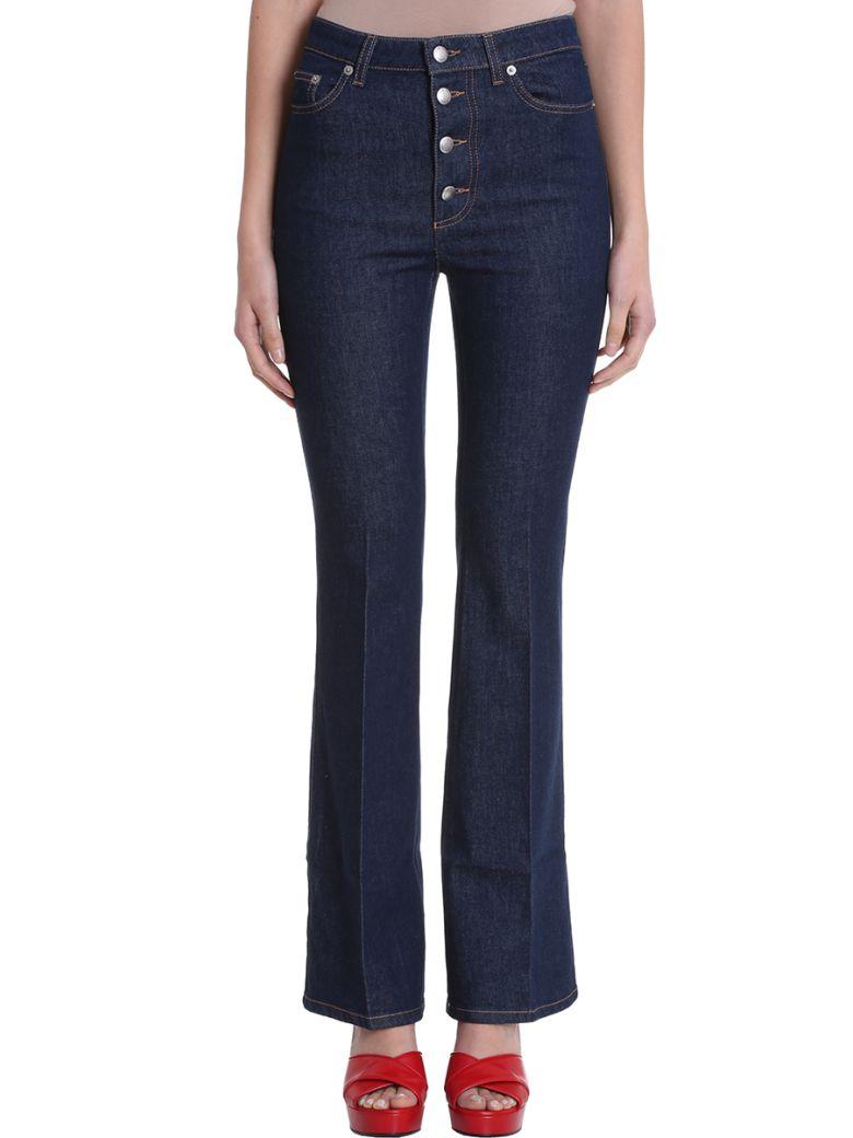 Sonia Rykiel High Waist Denim Jeans - blue