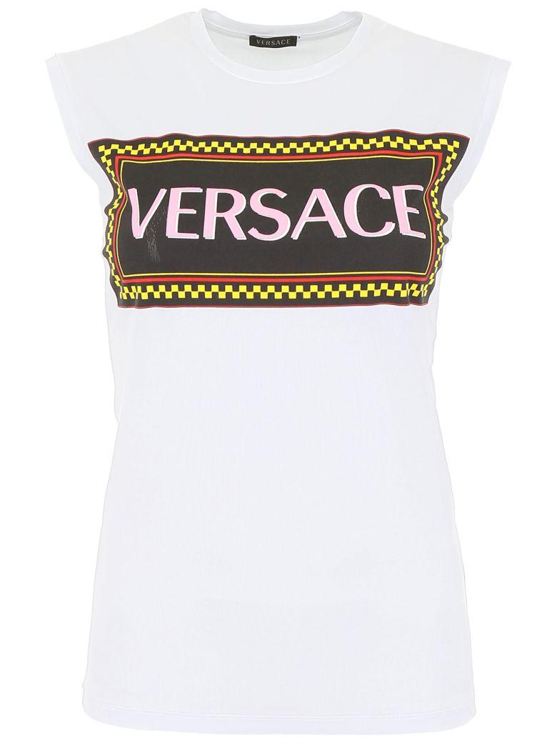 Versace Sleeveless T-shirt - BIANCO
