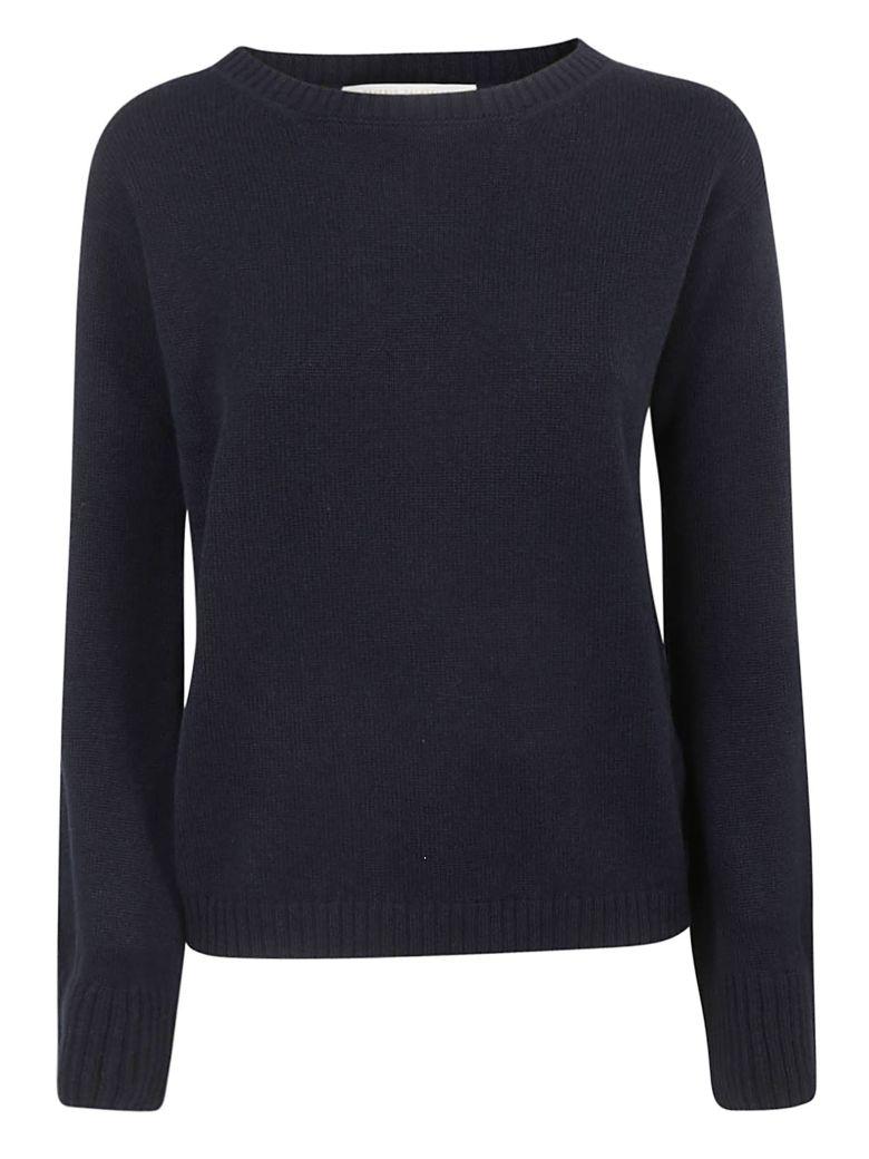 Saverio Palatella Round Neck Sweater - Navy