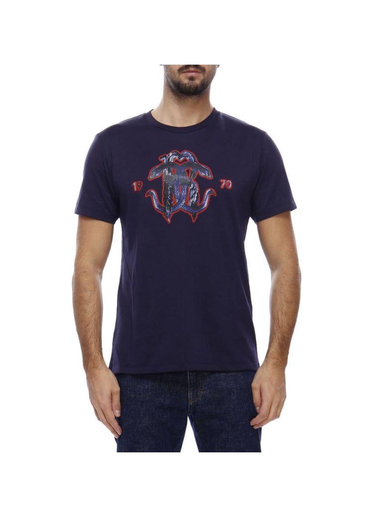 Roberto Cavalli T-shirt T-shirt Men Roberto Cavalli - blue