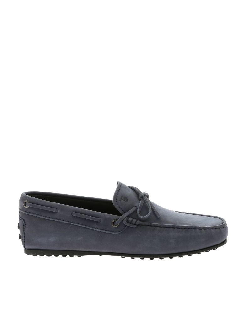 Tod's City Gommino Driving Shoes - Blue