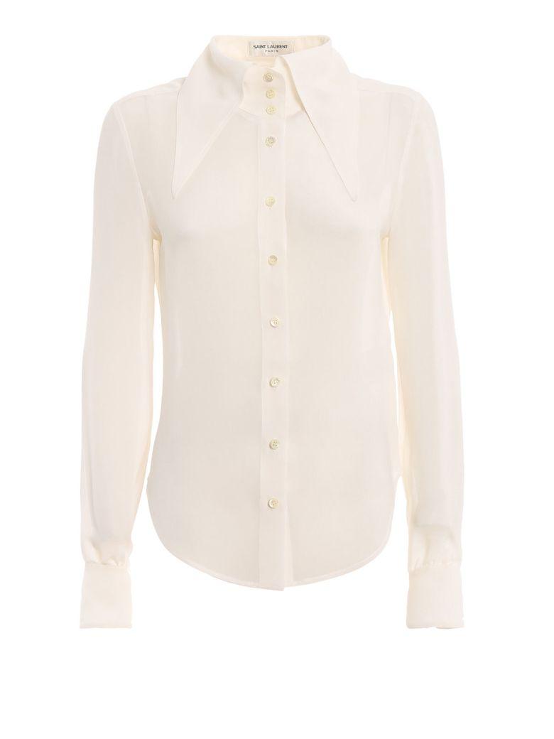 Saint Laurent Extended Wing Collar Shirt - Basic