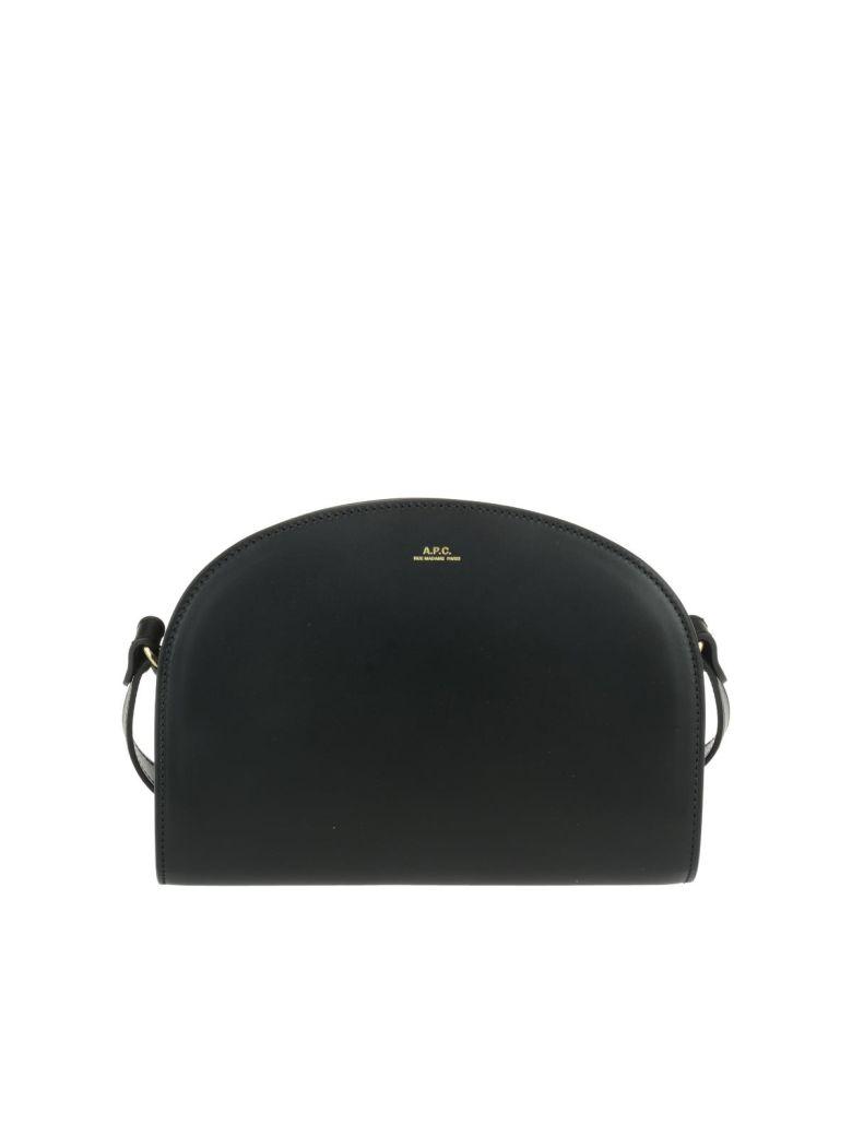 A.P.C. Crossbody Bag Demi Lune - Black