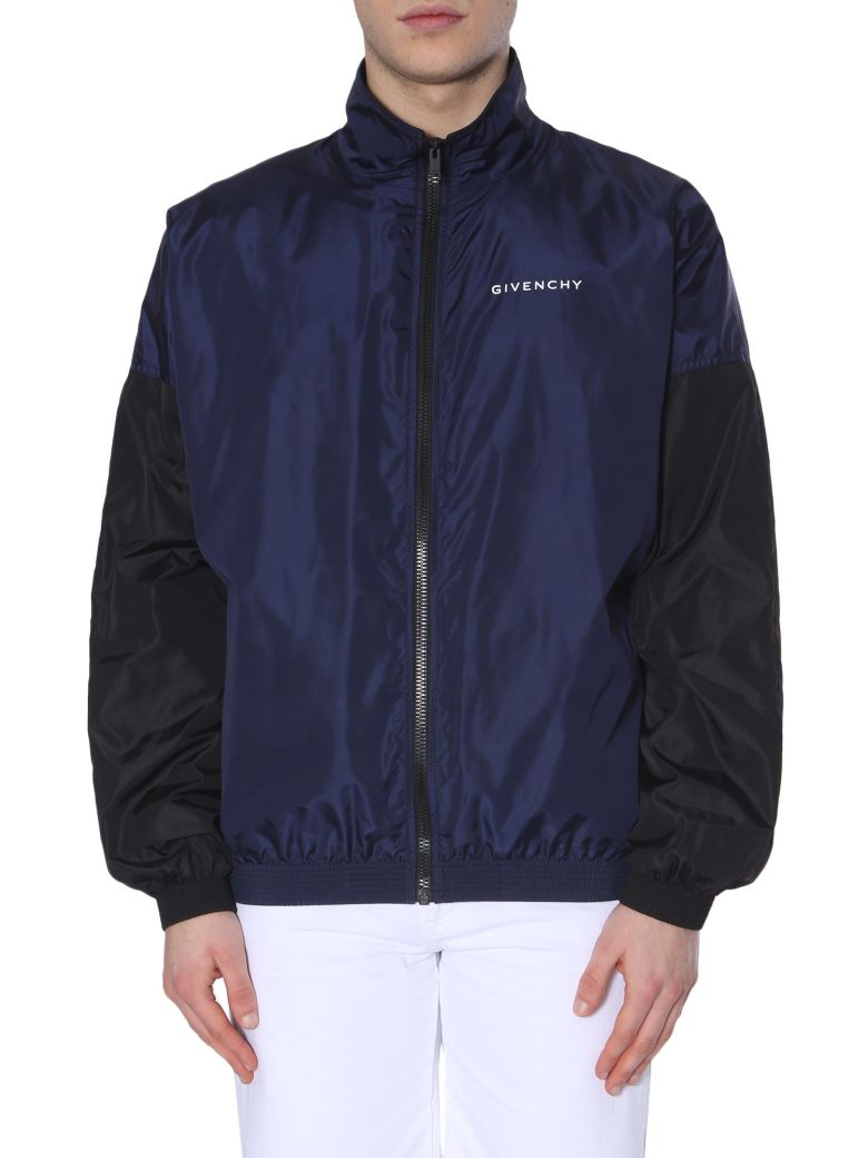 Givenchy Two-tone Track Jacket - BLU