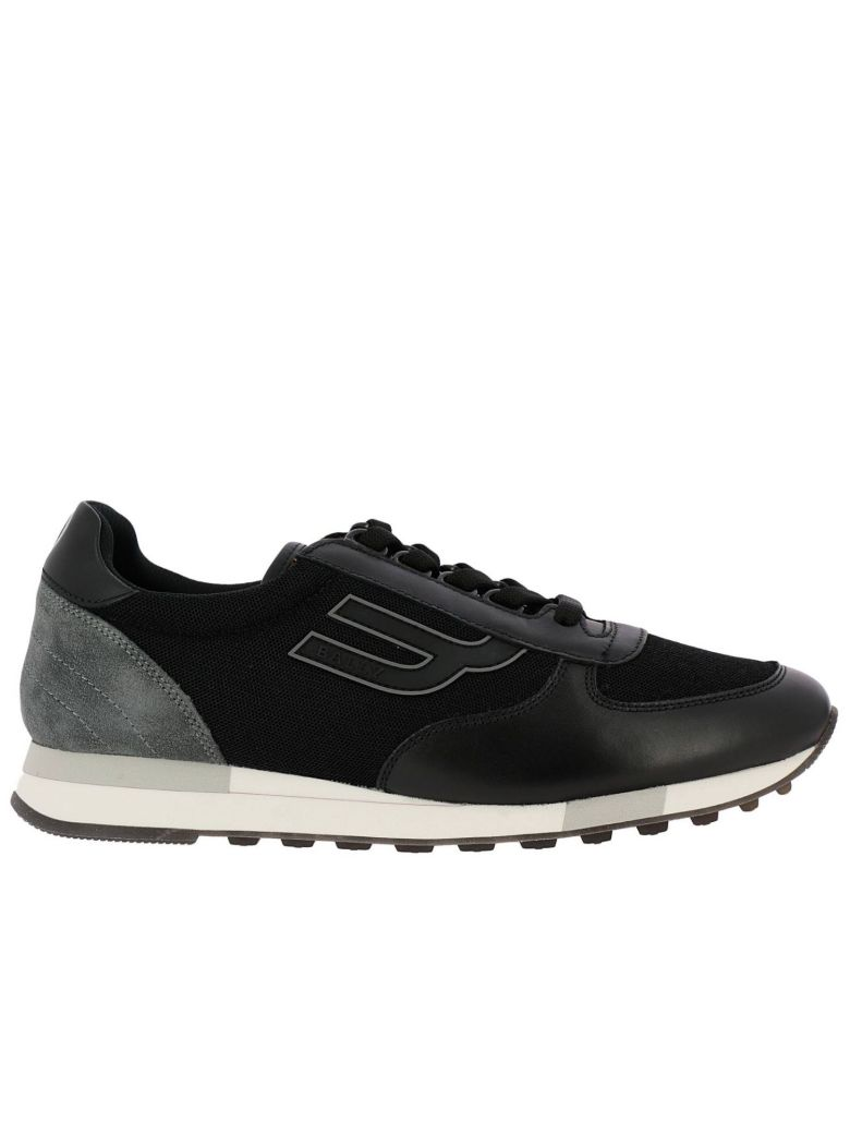 Bally Sneakers Shoes Men Bally - black