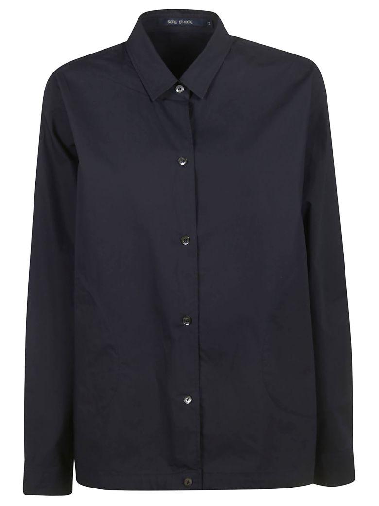 Sofie d'Hoore Bioko Long-sleeved Shirt - Night Blue