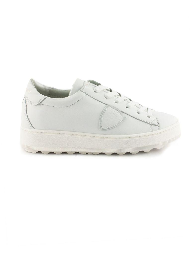 Philippe Model White Leather Madeleine Sneaker - White