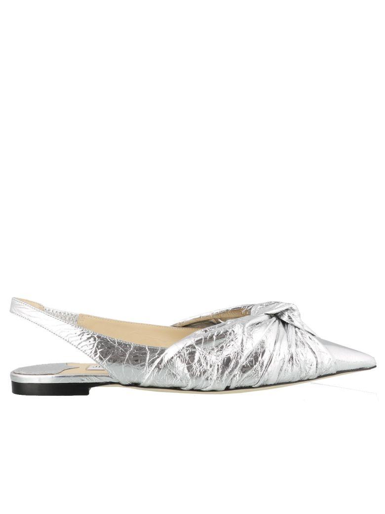Jimmy Choo Annabell Flat - Silver