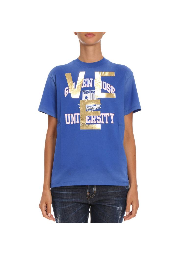 Golden Goose T-shirt T-shirt Women Golden Goose - blue