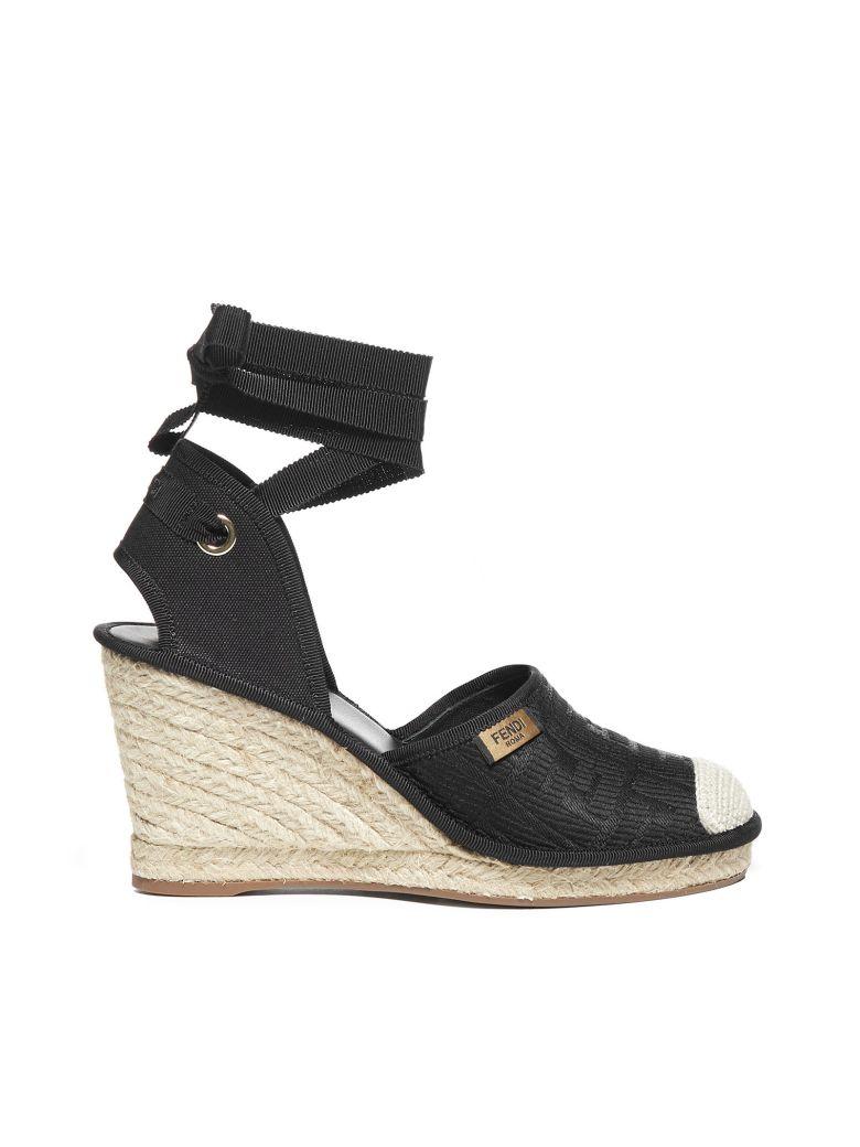 Fendi Flat Shoes - Nero+nero