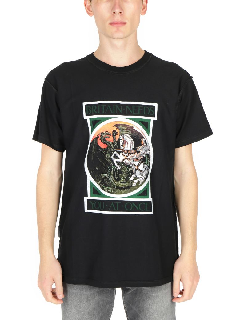 REPRESENT - George And The Dragon T-shirt - Black