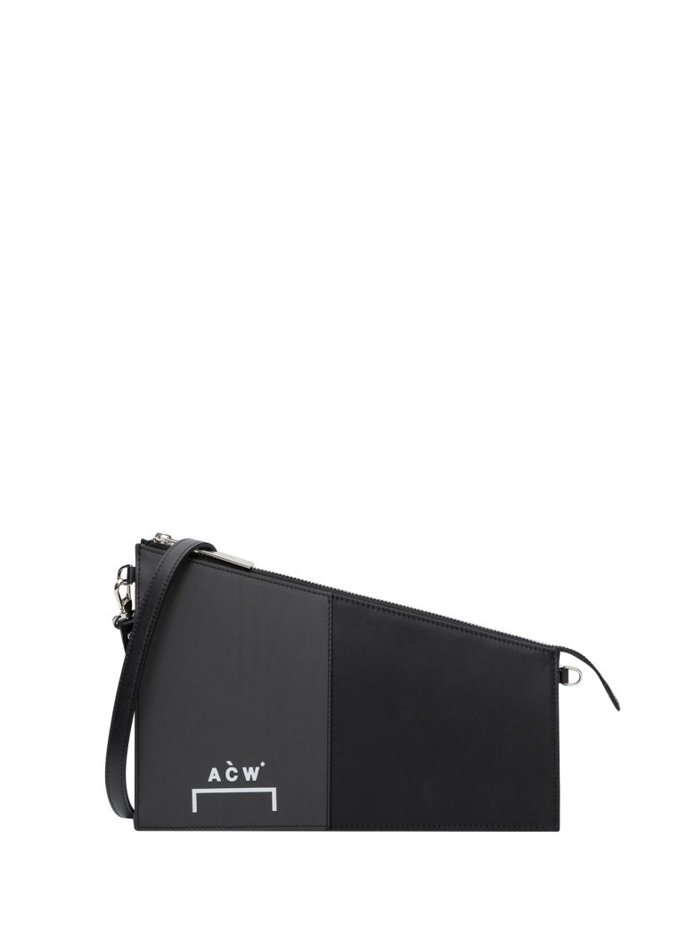 A-COLD-WALL Corbusier Leather Shoulder Bag - Black