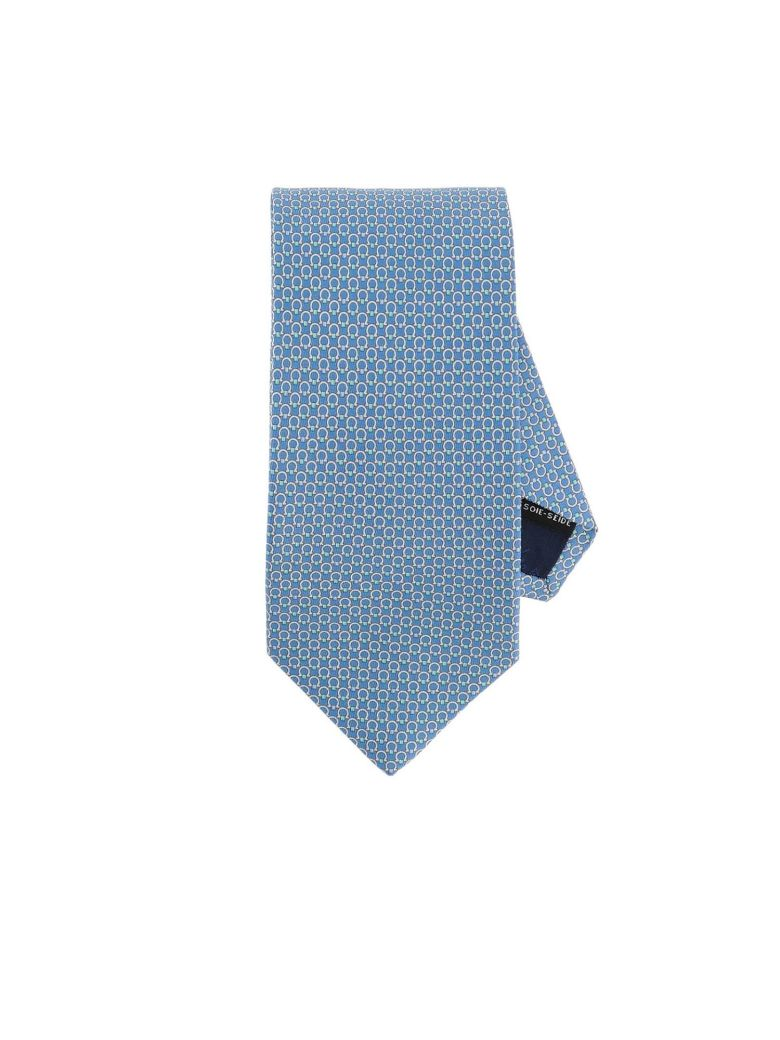 Salvatore Ferragamo Tie Tie Men Salvatore Ferragamo - gnawed blue