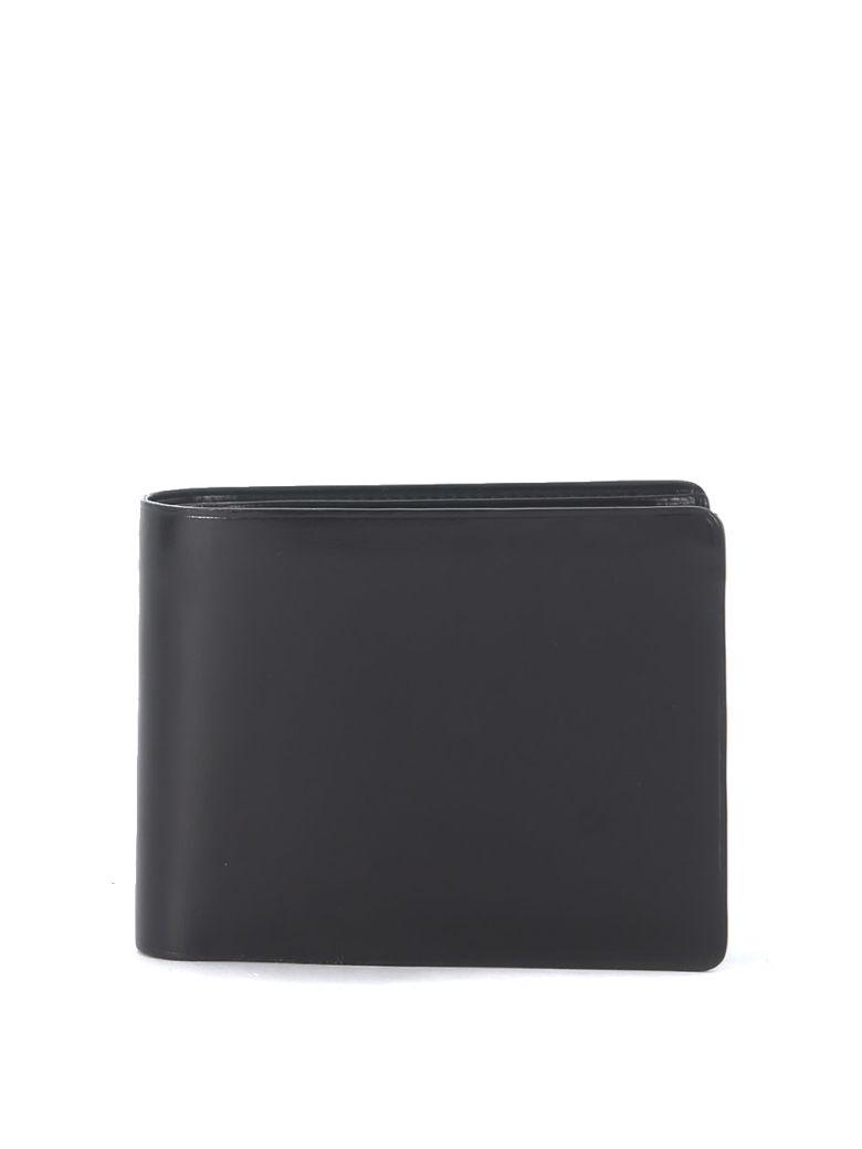 Il Bussetto Black Leather Wallet - Black