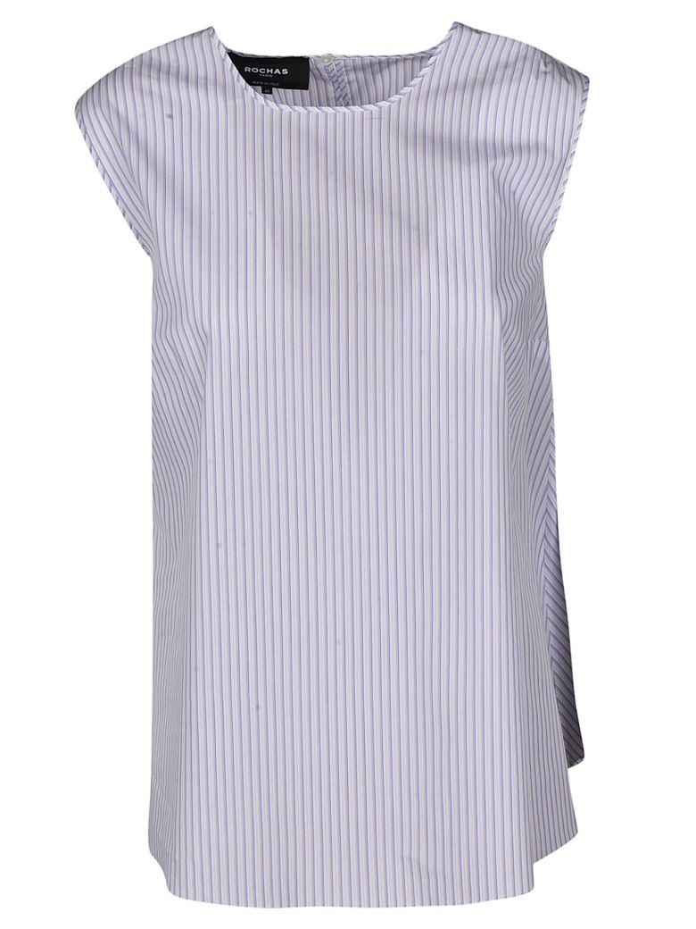 Rochas Rochas Striped Bow Top - Pastel