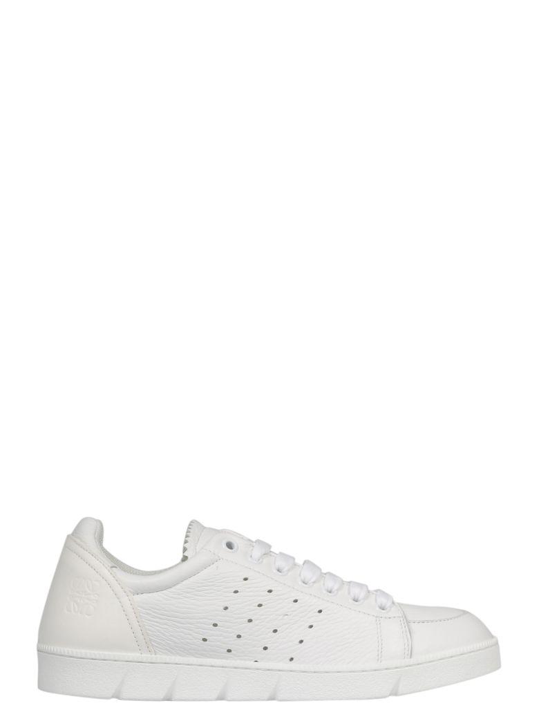 Loewe Perforated Sneakers - White