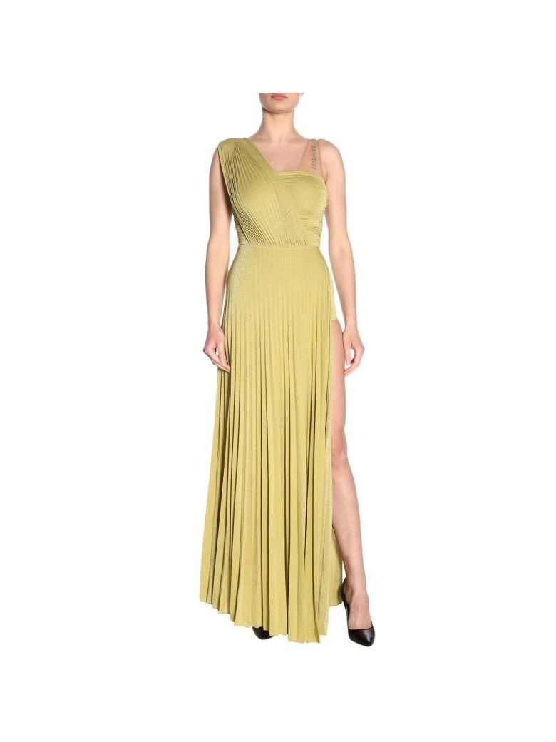 Elisabetta Franchi Celyn B. Elisabetta Franchi Dress Dress Women Elisabetta Franchi - Yellow