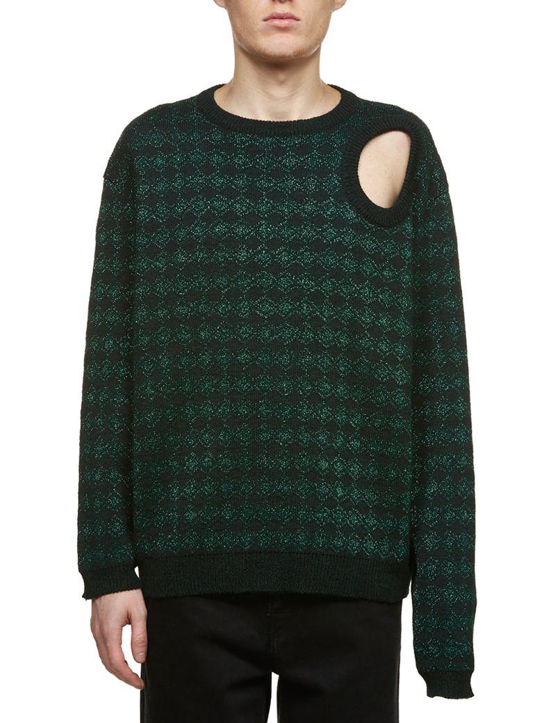 Raf Simons Jacquard Sweater - Verde