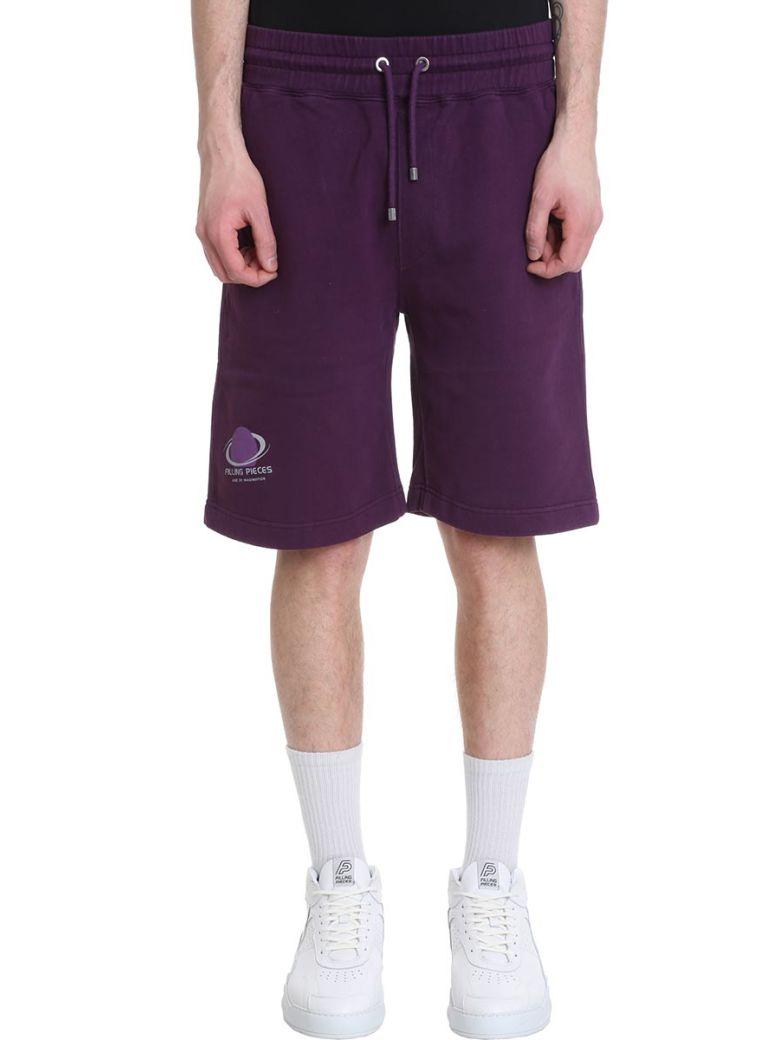 Filling Pieces Purple Cotton Shorts - Purple