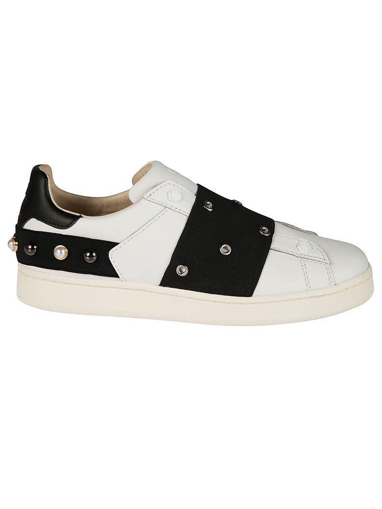 M.O.A. master of arts Moa Embellished Sneakers - white