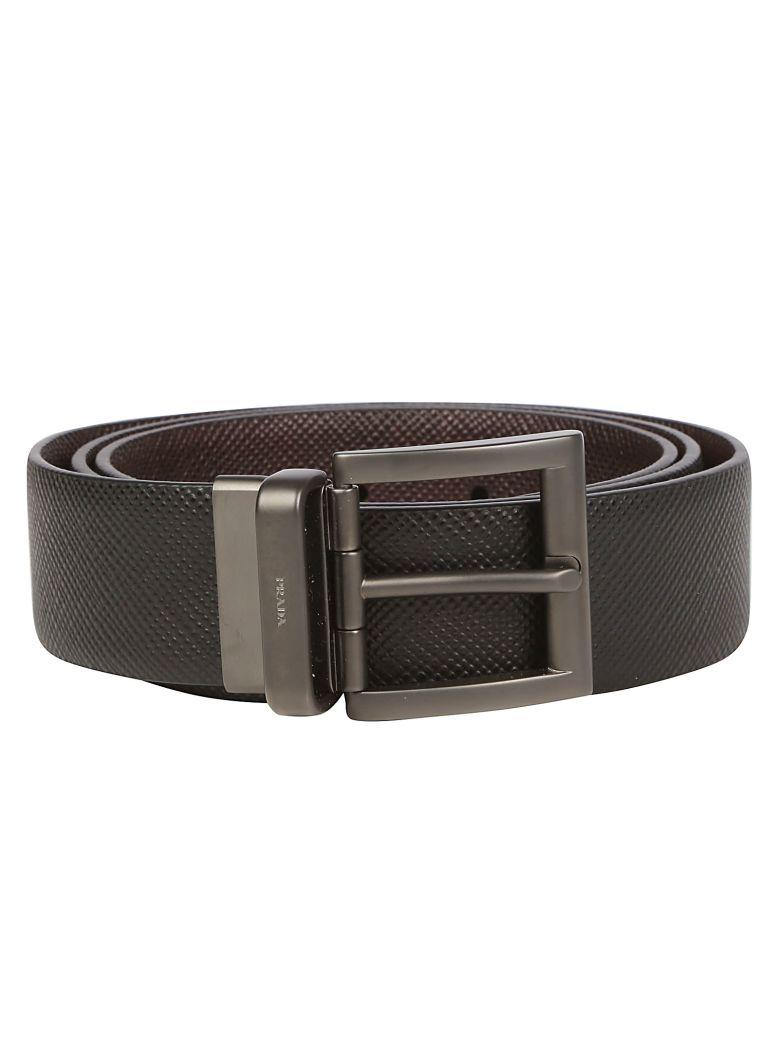 Prada Belt - Nero/caffe