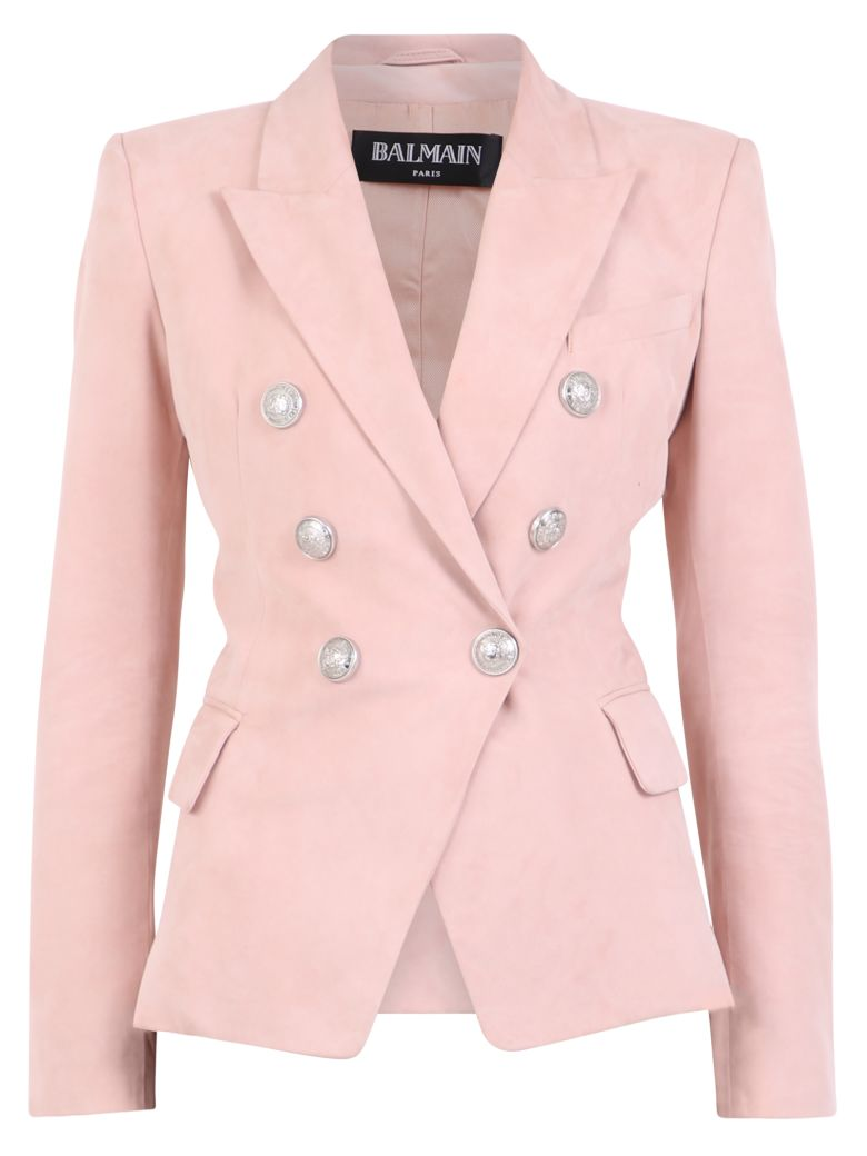 Balmain Double-breasted Jacket - Pink