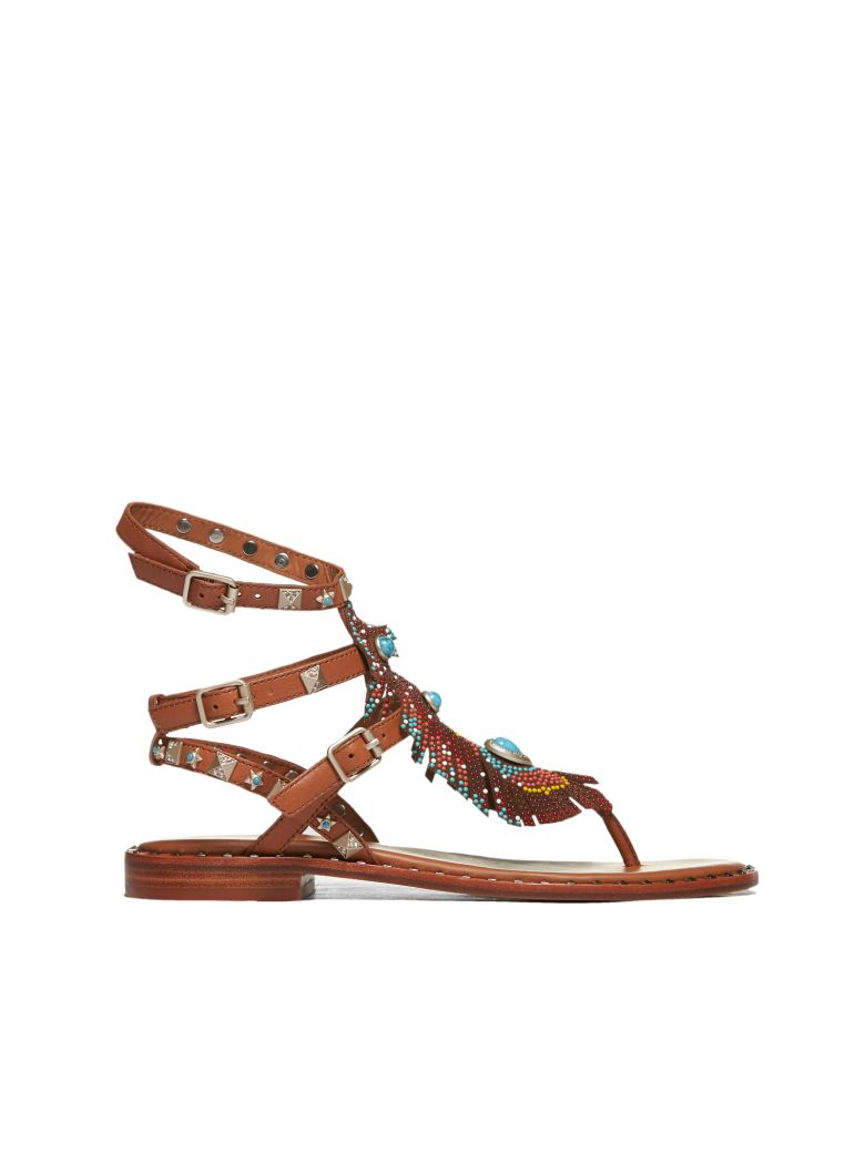 Ash Pandora Sandals - Cuoio multicolor