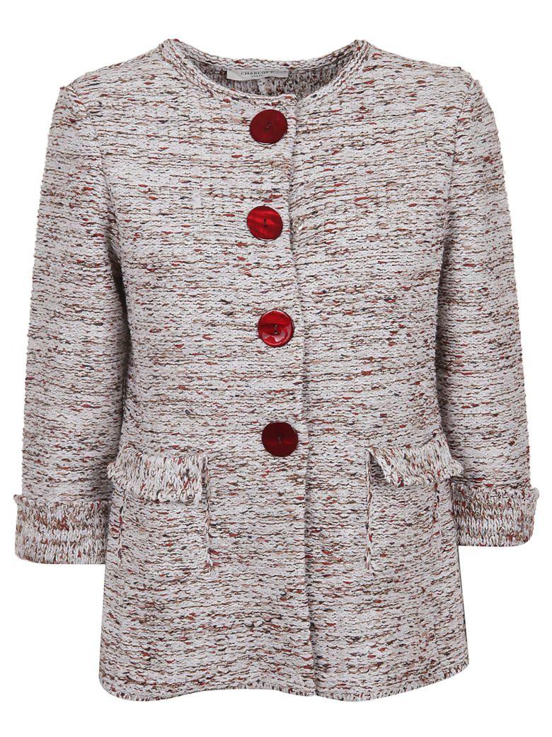 Charlott Fringed Jacket - Rosa Bordeaux
