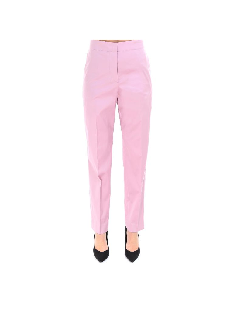 Theory Clean Tapered Pant Trousers - Pink