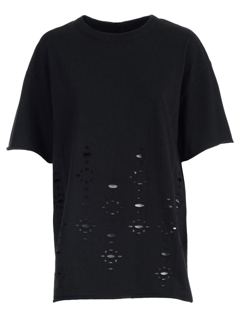 See by Chloé See By Chloé Ripped T-shirt - Black
