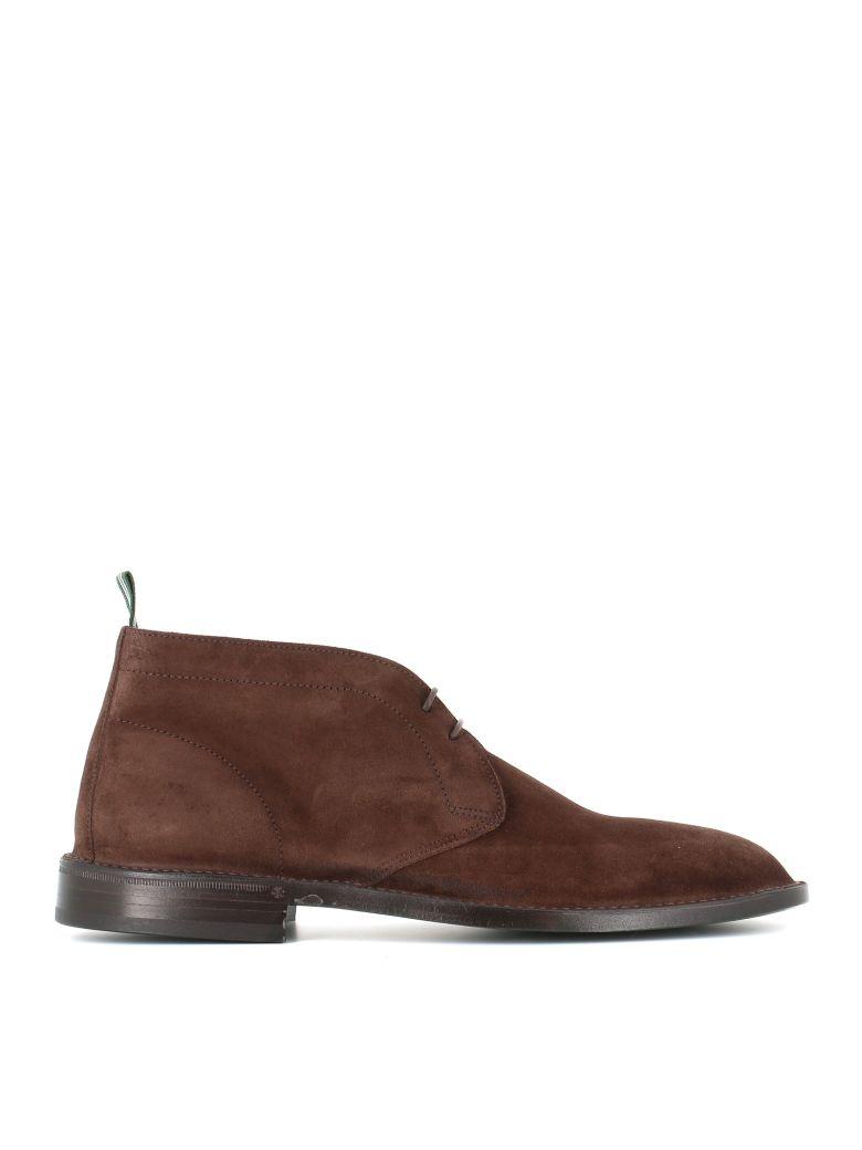 "Green George Desert-boots ""1021"" - Ebony"