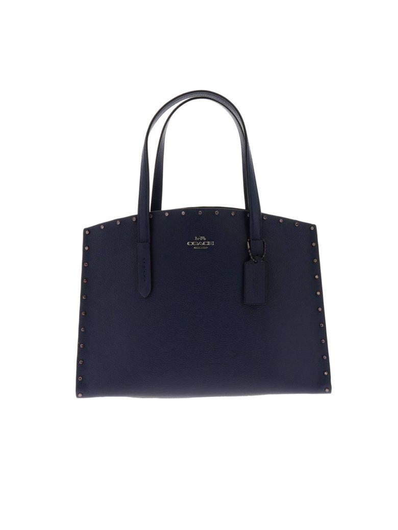 Coach Handbag Shoulder Bag Women Coach - blue