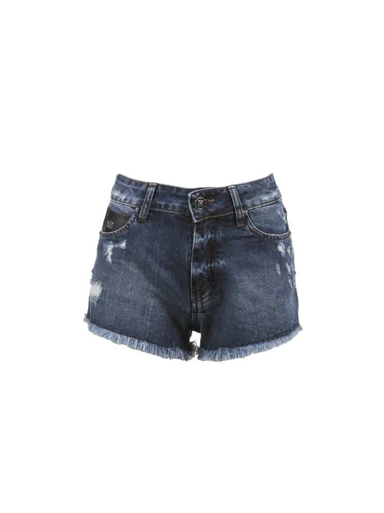 John Richmond Bronx Shorts - Blue