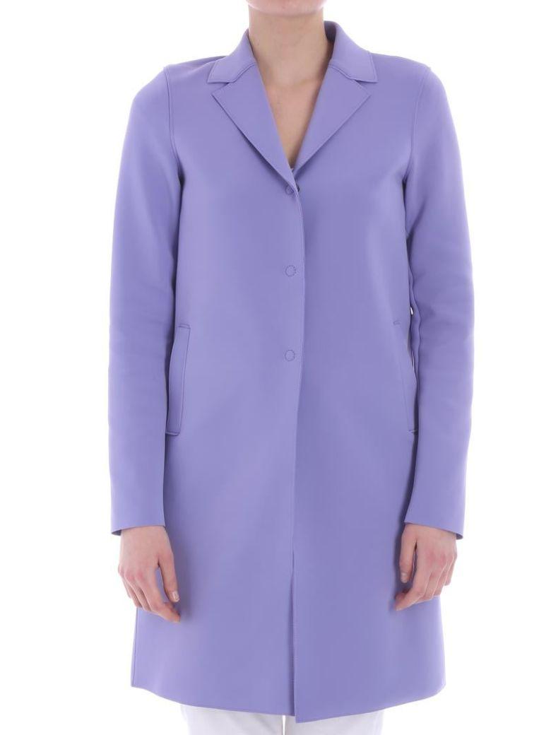 Harris Wharf London - Neoprene Overcoat - Basic