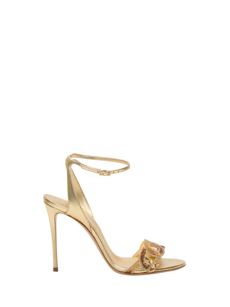 Casadei Golden Sandals - Oro