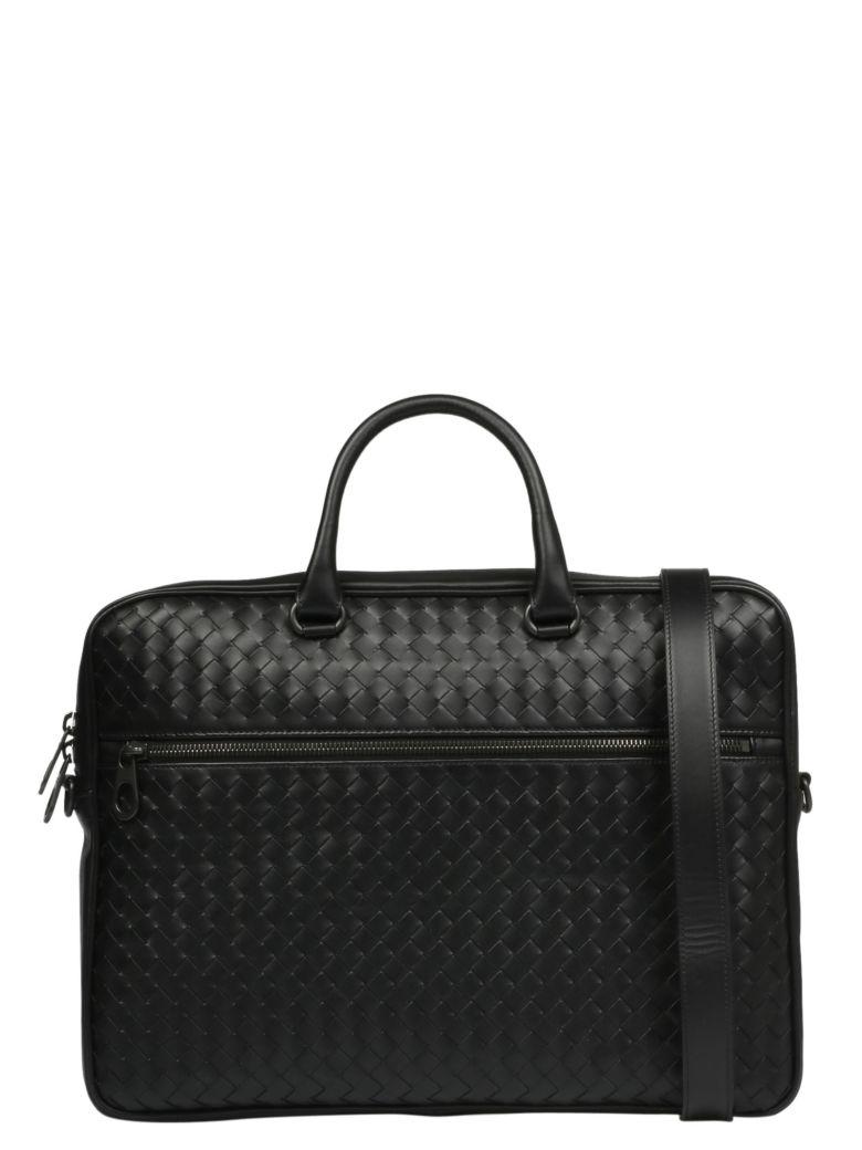 Bottega Veneta Woven Laptop Shoulder Bag - 1000
