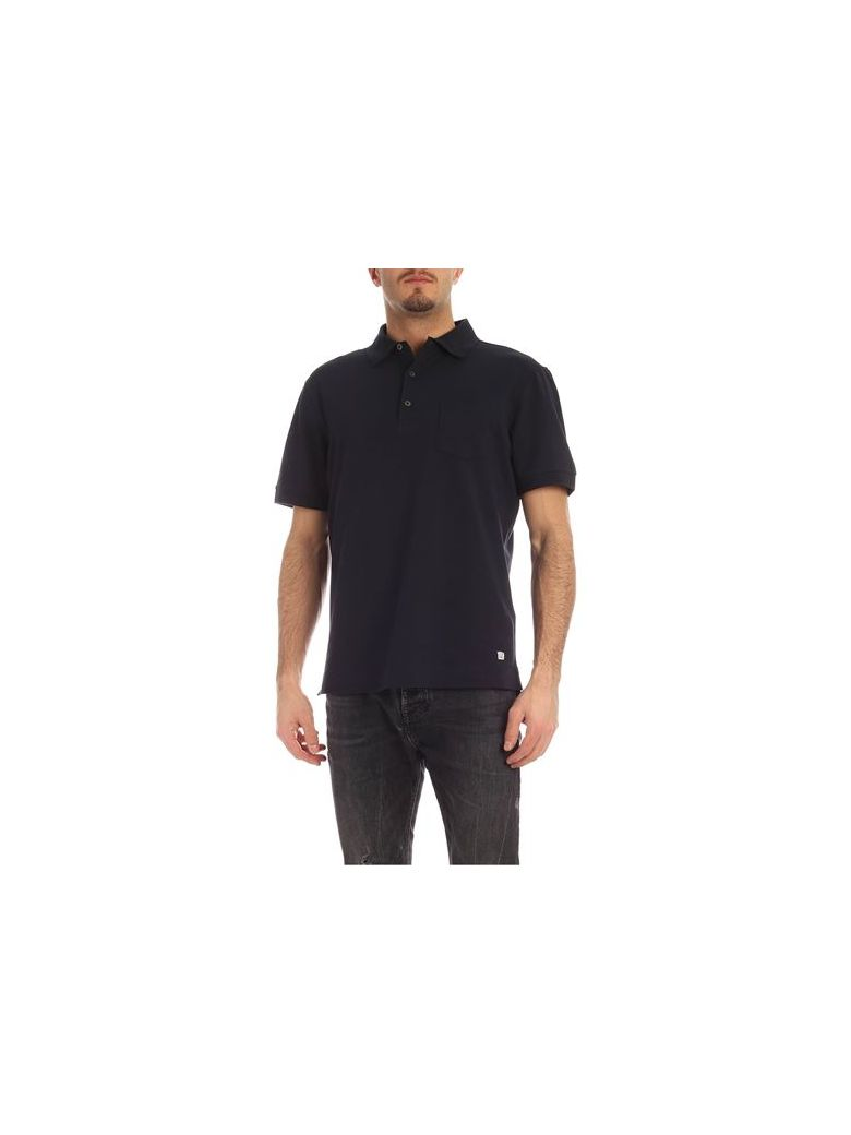 C.P. Company Polo - Short Sleeve - Total Eclipse