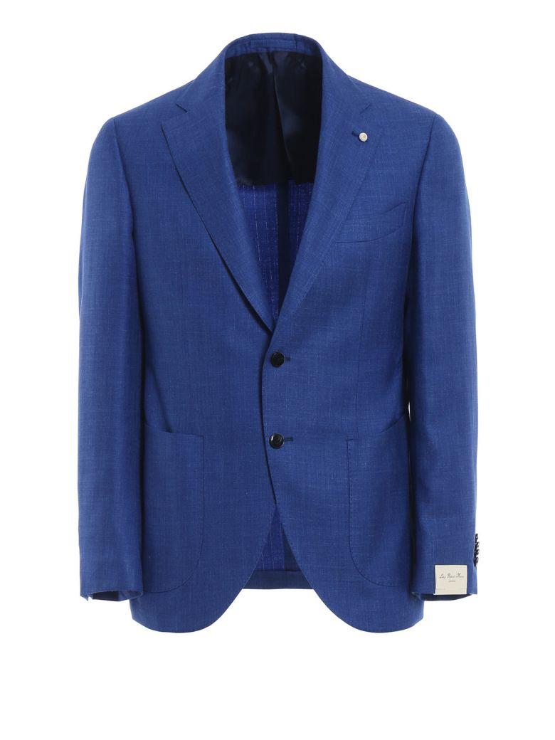 Luigi Bianchi Mantova Summertime Blazer - Blue