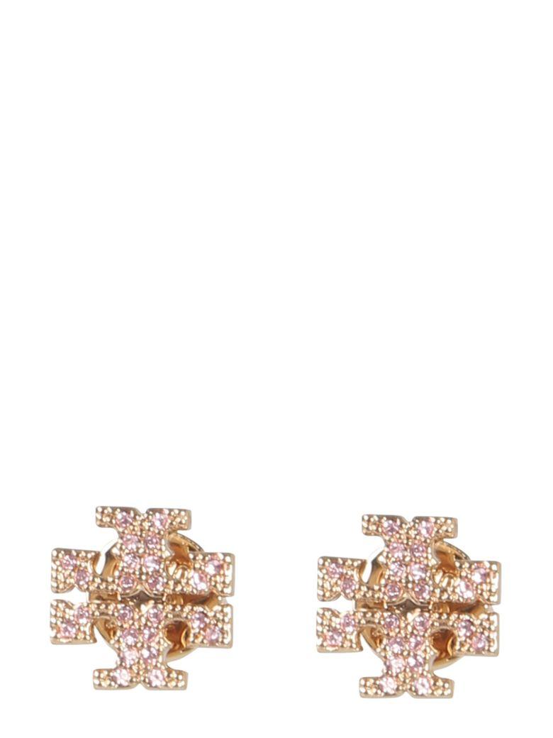 Tory Burch Crystal Logo Earrings - ROSA