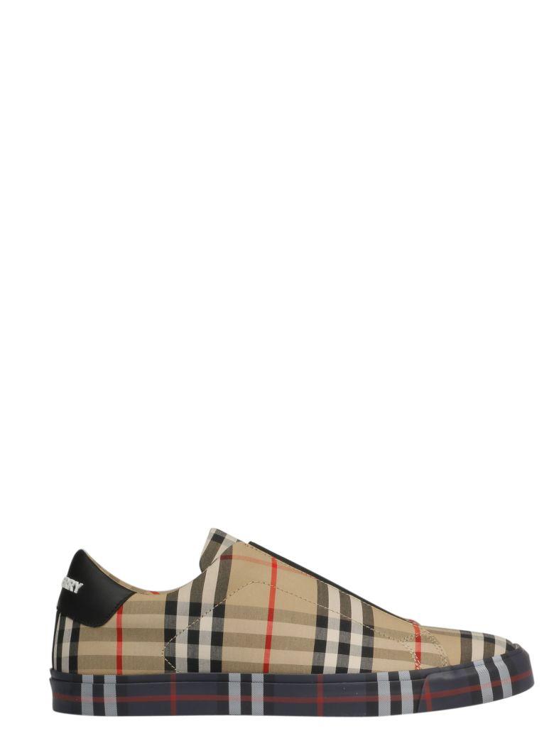 Burberry Logo Slip-on Sneakers - Basic