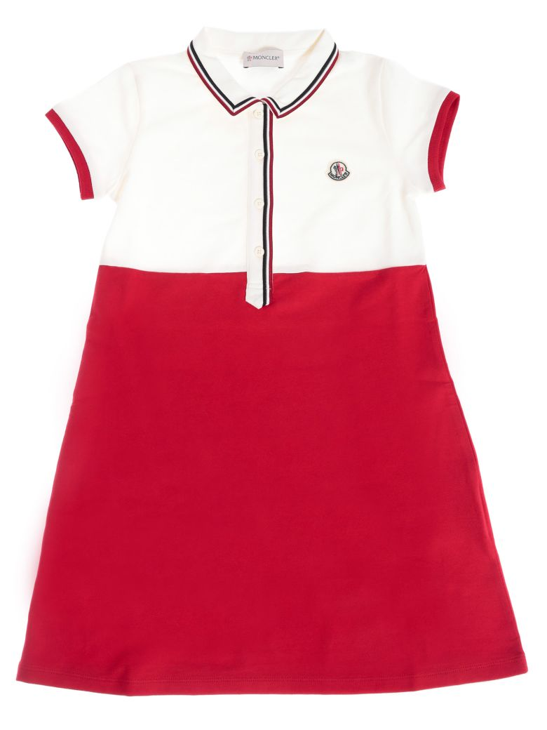 Moncler Kids Polo Shirt Dress