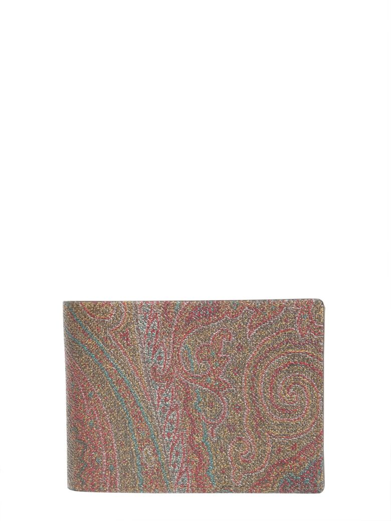 78a1111b191 Etro Paisley Wallet In Brown | ModeSens