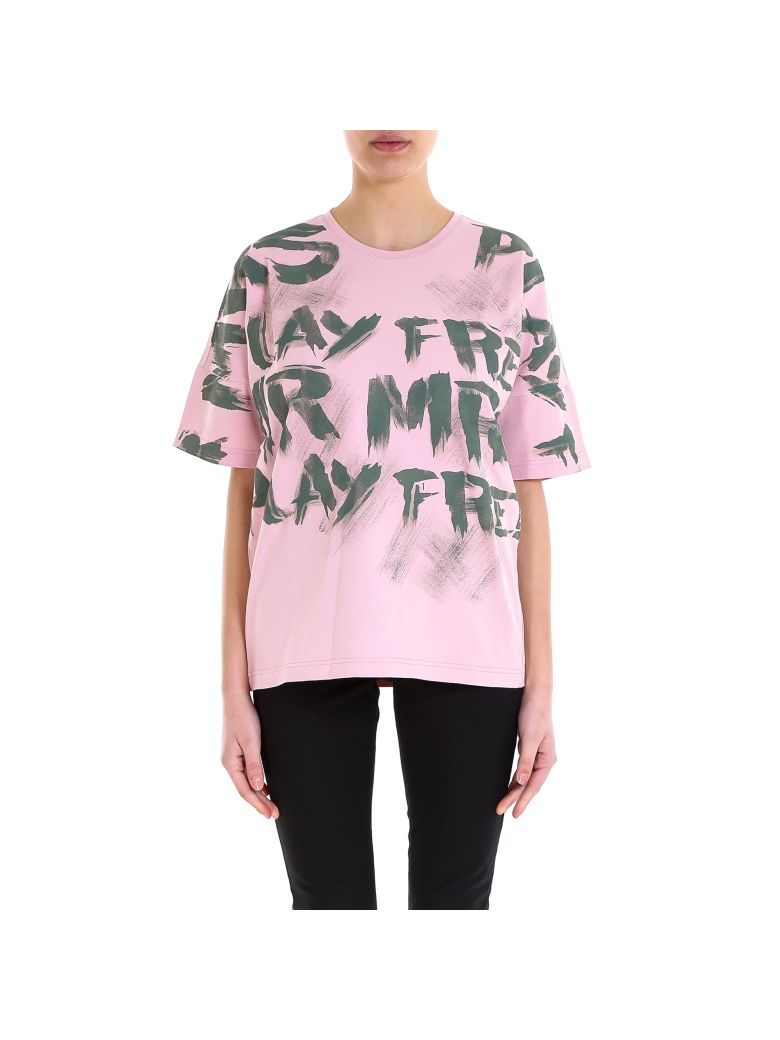 Mr & Mrs Italy T-shirt - Pink