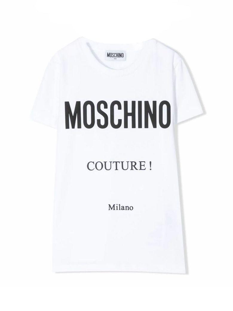 Moschino White Cotton T-shirt - Bianco