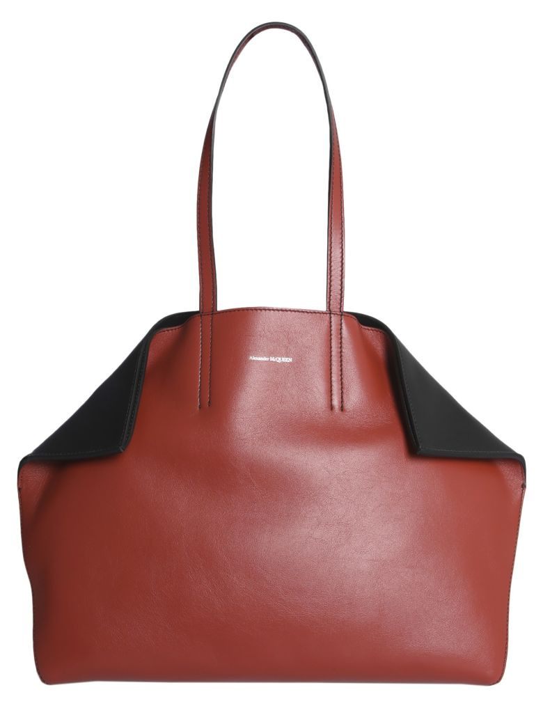 Alexander McQueen Butterfly Tote Bag - ROSSO