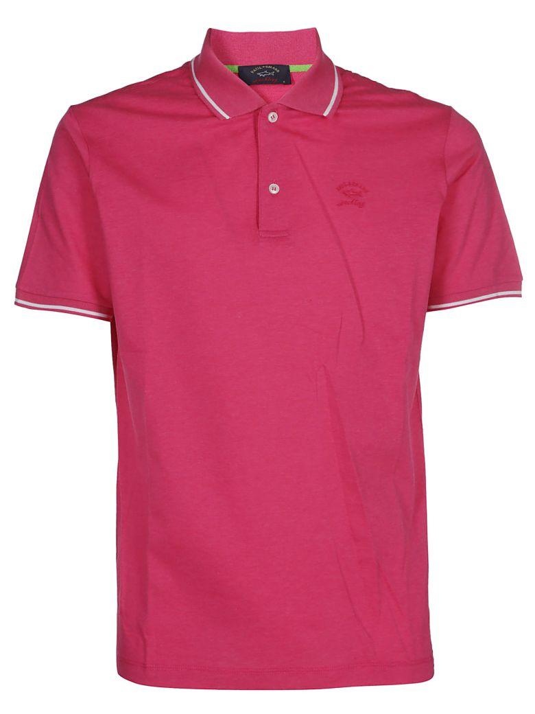 Paul&Shark Paul & Shark Embroidered Polo Shirt - Pink