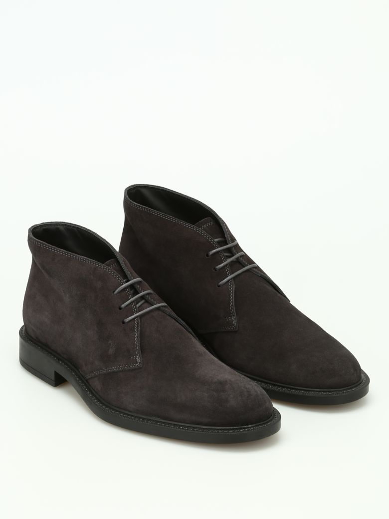 Tod's 45a Suede Desert Boots - Basic