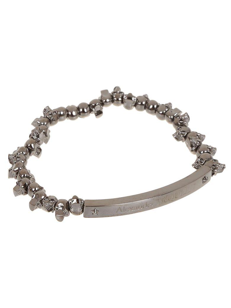 Alexander McQueen Skull Charm Bracelet - Dk Rutenio Ant.